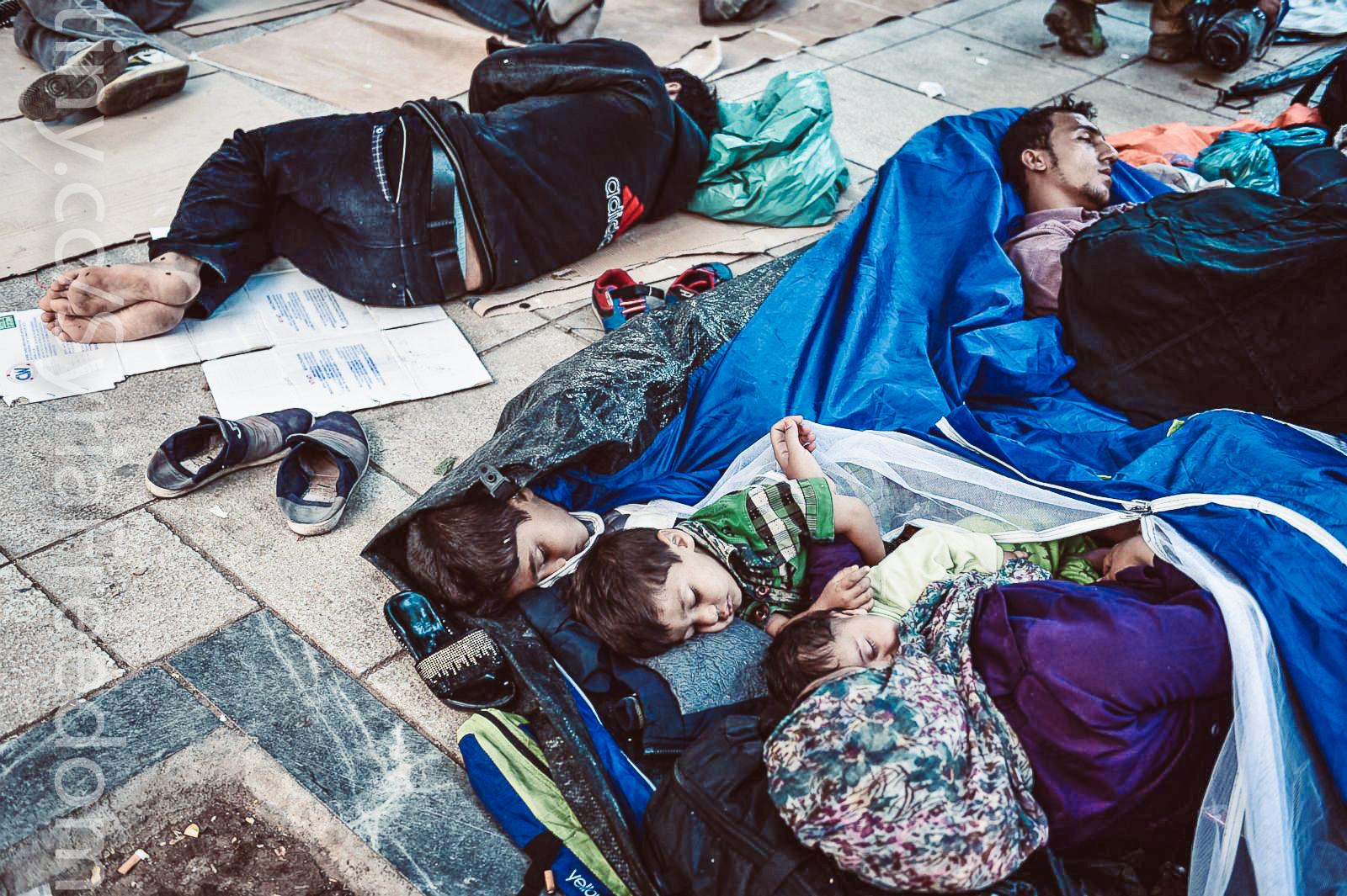 Почему одни страдания вызывают у нас сочувствие, а к другим мы безразличны? Сирийские беженцы, фото: Freedom House